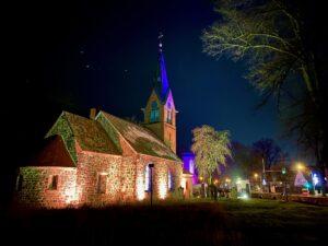 Ziethener Lichterglanz: Dorfkirche
