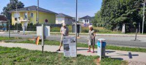 Gedenkstunde am 13. August 2021 im Grenzgebiet Großziethen – Buckow