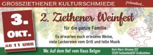 Weinfest am Tag der Deutschen Einheit